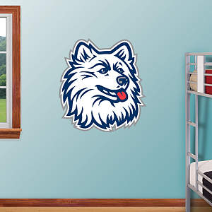 UConn Huskies Logo Fathead Wall Decal